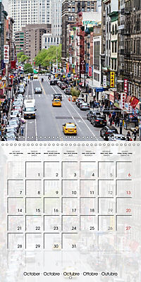 NEW YORK CITY Urban Highlights (Wall Calendar 2019 300 × 300 mm Square) - Produktdetailbild 10