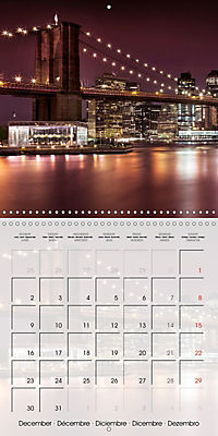 NEW YORK CITY Urban Highlights (Wall Calendar 2019 300 × 300 mm Square) - Produktdetailbild 12