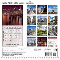 NEW YORK CITY Urban Highlights (Wall Calendar 2019 300 × 300 mm Square) - Produktdetailbild 13