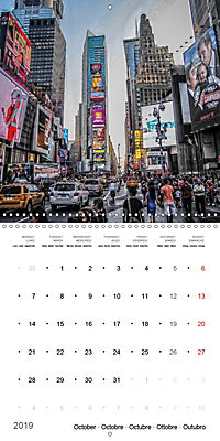 New York City Views (Wall Calendar 2019 300 × 300 mm Square) - Produktdetailbild 10