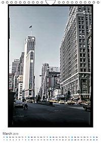 New York City - Vintage Views (Wall Calendar 2019 DIN A4 Portrait) - Produktdetailbild 3