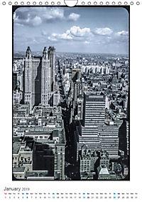 New York City - Vintage Views (Wall Calendar 2019 DIN A4 Portrait) - Produktdetailbild 1
