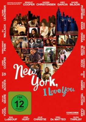 New York, I Love You, Emmanuel Benbihy, Tristan Carné, Hall Powell, Israel Horovitz, James C. Strouse, Shunji Iwai, Hu Hong, Yao Meng, Scarlett Johansson