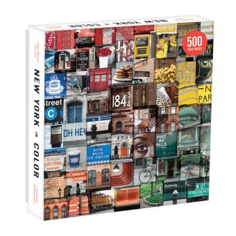 New York In Color 500pc Puzzle