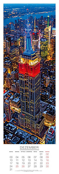 New York Panoramakalender 2018 - Produktdetailbild 12