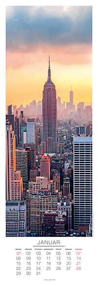 New York Panoramakalender 2018 - Produktdetailbild 1