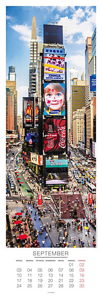 New York Panoramakalender 2018 - Produktdetailbild 9