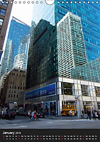 New York reflections of a big city (Wall Calendar 2019 DIN A4 Portrait) - Produktdetailbild 1