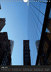 New York reflections of a big city (Wall Calendar 2019 DIN A4 Portrait) - Produktdetailbild 7