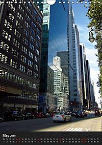 New York reflections of a big city (Wall Calendar 2019 DIN A4 Portrait) - Produktdetailbild 5