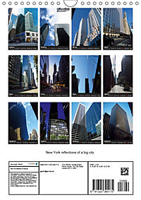 New York reflections of a big city (Wall Calendar 2019 DIN A4 Portrait) - Produktdetailbild 13