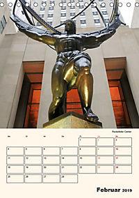 New York - sehenswertes Manhattan (Tischkalender 2019 DIN A5 hoch) - Produktdetailbild 2