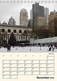 New York - sehenswertes Manhattan (Tischkalender 2019 DIN A5 hoch) - Produktdetailbild 12