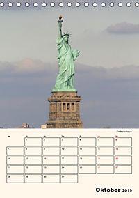 New York - sehenswertes Manhattan (Tischkalender 2019 DIN A5 hoch) - Produktdetailbild 10