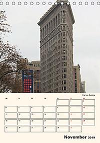 New York - sehenswertes Manhattan (Tischkalender 2019 DIN A5 hoch) - Produktdetailbild 11