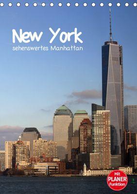 New York - sehenswertes Manhattan (Tischkalender 2019 DIN A5 hoch), Jana Thiem-Eberitsch