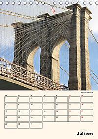 New York - sehenswertes Manhattan (Tischkalender 2019 DIN A5 hoch) - Produktdetailbild 7