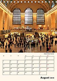 New York - sehenswertes Manhattan (Tischkalender 2019 DIN A5 hoch) - Produktdetailbild 8