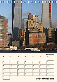 New York - sehenswertes Manhattan (Tischkalender 2019 DIN A5 hoch) - Produktdetailbild 9