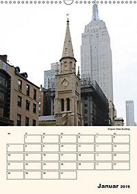 New York - sehenswertes Manhattan (Wandkalender 2019 DIN A3 hoch) - Produktdetailbild 1