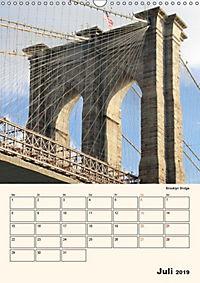 New York - sehenswertes Manhattan (Wandkalender 2019 DIN A3 hoch) - Produktdetailbild 7