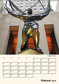 New York - sehenswertes Manhattan (Wandkalender 2019 DIN A2 hoch) - Produktdetailbild 2