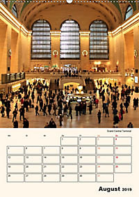 New York - sehenswertes Manhattan (Wandkalender 2019 DIN A2 hoch) - Produktdetailbild 8