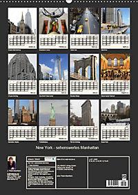 New York - sehenswertes Manhattan (Wandkalender 2019 DIN A2 hoch) - Produktdetailbild 13