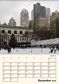 New York - sehenswertes Manhattan (Wandkalender 2019 DIN A2 hoch) - Produktdetailbild 12