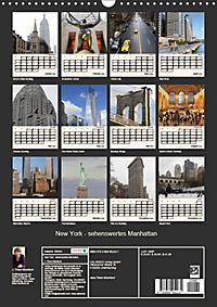 New York - sehenswertes Manhattan (Wandkalender 2019 DIN A3 hoch) - Produktdetailbild 13