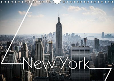 New York Shoots / UK-Version (Wall Calendar 2019 DIN A4 Landscape), Oliver Pinkoss