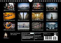 New York Shoots / UK-Version (Wall Calendar 2019 DIN A4 Landscape) - Produktdetailbild 13