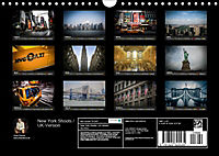 New York Shoots / UK-Version (Wall Calendar 2019 DIN A4 Landscape) - Produktdetailbild 13