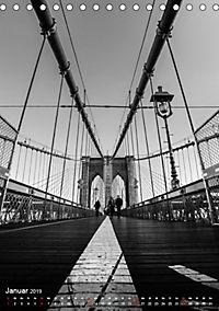 New York - Szenen in Schwarz - Weiß (Tischkalender 2019 DIN A5 hoch) - Produktdetailbild 1