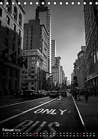 New York - Szenen in Schwarz - Weiß (Tischkalender 2019 DIN A5 hoch) - Produktdetailbild 2