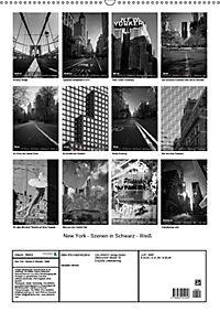 New York - Szenen in Schwarz - Weiss (Wandkalender 2019 DIN A2 hoch) - Produktdetailbild 13