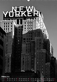New York - Szenen in Schwarz - Weiss (Wandkalender 2019 DIN A2 hoch) - Produktdetailbild 3