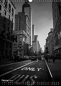 New York - Szenen in Schwarz - Weiß (Wandkalender 2019 DIN A3 hoch) - Produktdetailbild 2