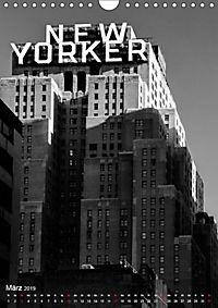 New York - Szenen in Schwarz - Weiß (Wandkalender 2019 DIN A4 hoch) - Produktdetailbild 3