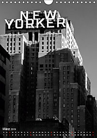 New York - Szenen in Schwarz - Weiss (Wandkalender 2019 DIN A4 hoch) - Produktdetailbild 3