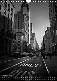 New York - Szenen in Schwarz - Weiss (Wandkalender 2019 DIN A4 hoch) - Produktdetailbild 2
