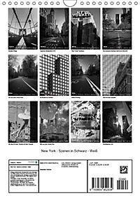 New York - Szenen in Schwarz - Weiss (Wandkalender 2019 DIN A4 hoch) - Produktdetailbild 13