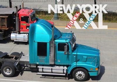 NEW YORK XXL Trucks and Limos (Wandkalender 2019 DIN A2 quer), Wilfried Oelschläger