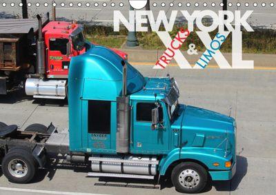 NEW YORK XXL Trucks and Limos (Wandkalender 2019 DIN A4 quer), Wilfried Oelschläger