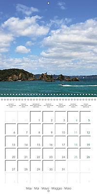New Zealand - Regions of the North Island (Wall Calendar 2019 300 × 300 mm Square) - Produktdetailbild 5