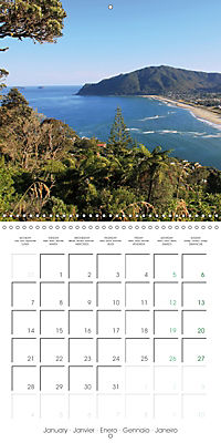 New Zealand - Regions of the North Island (Wall Calendar 2019 300 × 300 mm Square) - Produktdetailbild 1
