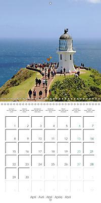New Zealand - Regions of the North Island (Wall Calendar 2019 300 × 300 mm Square) - Produktdetailbild 4