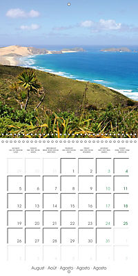 New Zealand - Regions of the North Island (Wall Calendar 2019 300 × 300 mm Square) - Produktdetailbild 8