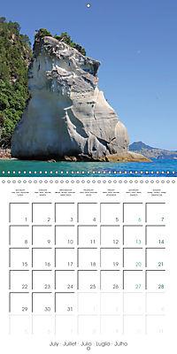 New Zealand - Regions of the North Island (Wall Calendar 2019 300 × 300 mm Square) - Produktdetailbild 7