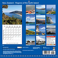 New Zealand - Regions of the North Island (Wall Calendar 2019 300 × 300 mm Square) - Produktdetailbild 13